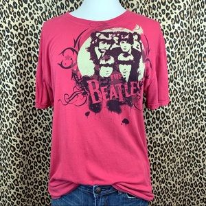 Official Beatles Graphic Band Tee